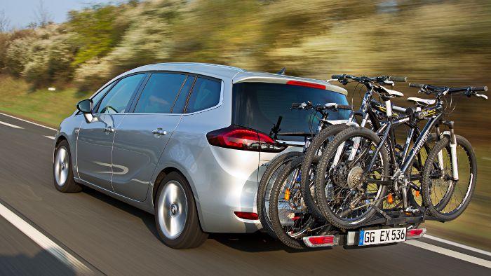 Auch von einem Fahrradträger können Bikes getsohlen werden.