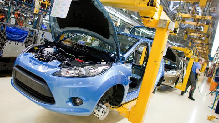 Fiesta-Produktion im Kölner Ford-Werk
