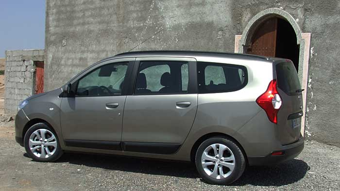 Der Dacia Lodgy kommt im Juni auf den deutschen Markt