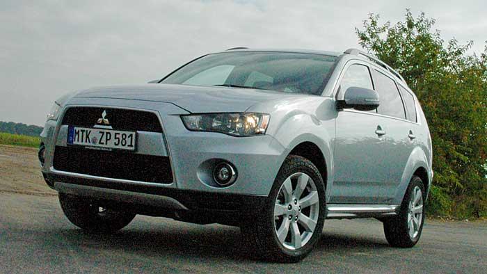 Mitsubishi bringt auch den Outlander als