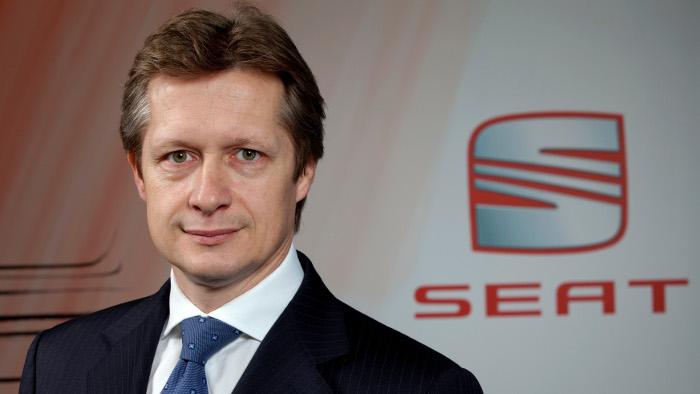 Seat-Deutschland-Chef Manfred Kantner.