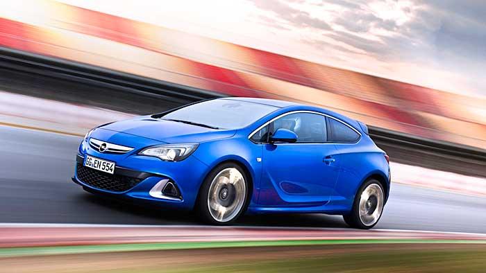 Beim Opel Astra OPC wurde das Fahrwerk optimiert