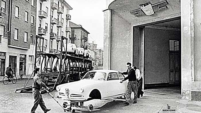Alfa Giulietta Sprint von Bertone