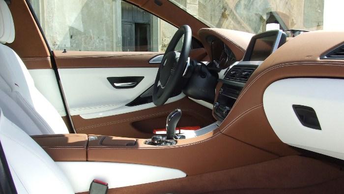 Der Innenraum im neuen BMW 6er Gran Coupe.
