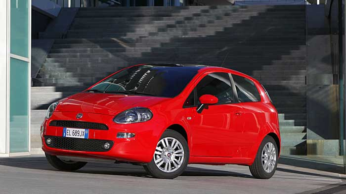 Der Fiat Punto wurde aufgefrischt