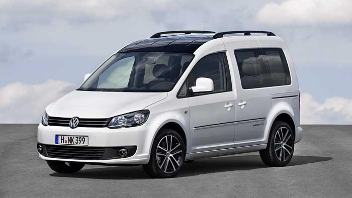 Der VW Caddy Edition 30