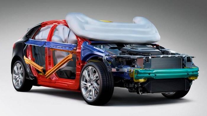 Volvo bietet für den V40 einen Fußgänger-Airbag an.