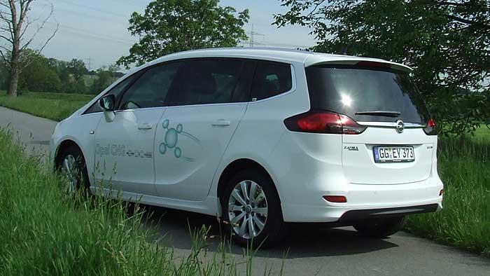 Der Opel Zafira Tourer 1.6 CNG Turbo ist sehr sparsam unterwegs