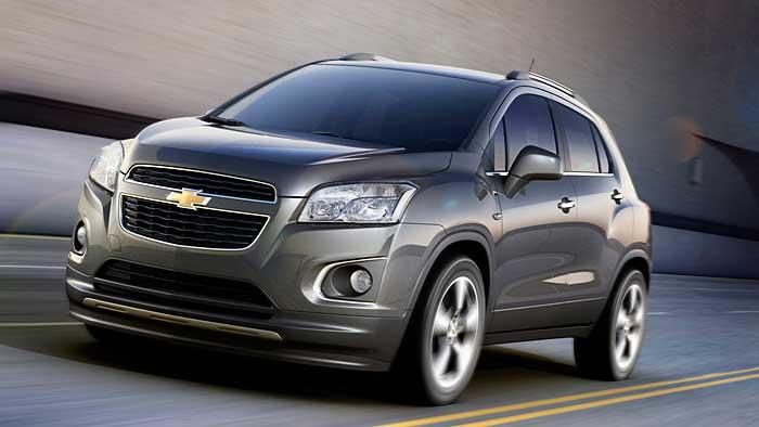 Chevrolet kommt mit Kompakt-SUV Trax