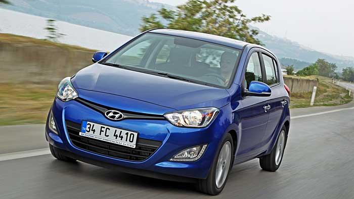 Der Hyundai i20 erhält ein Facelift