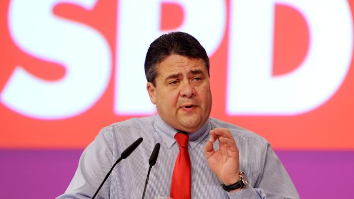 SPD-Chef Sigmar Gabriel.