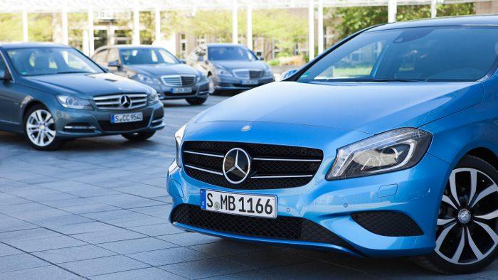 Neue Motoren für die neue Mercedes A-Klasse.