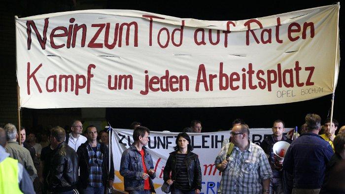 Zukunft des Opel-Werks Bochum bleibt ungewiss