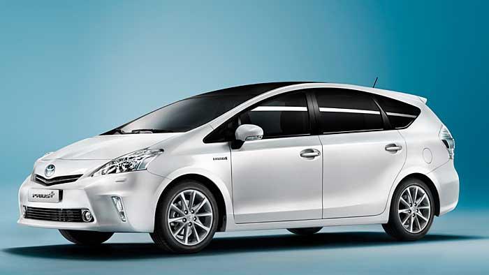 Toyota nennt Preis für Kompakt-Van Prius+
