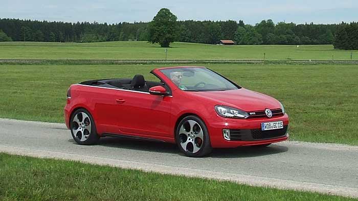 Das VW Golf GTI Cabrio kommt Mitte Juni