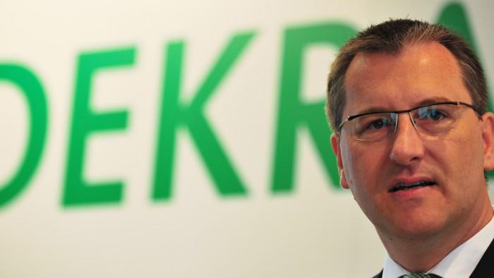 Dekra-Vorstandschef Stefan Kölbl.