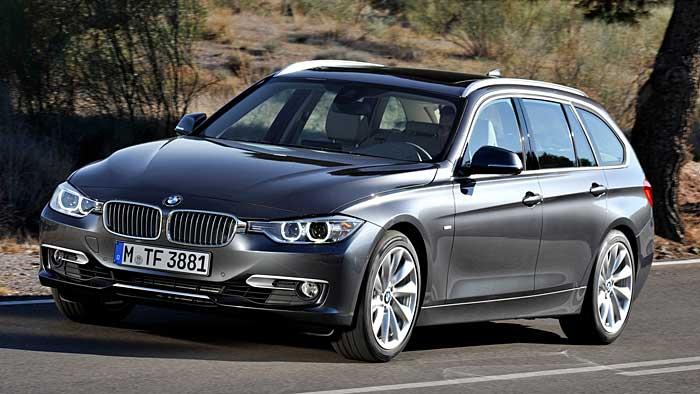 Der BMW 3er Touring feiert in Leipzig Weltpremiere