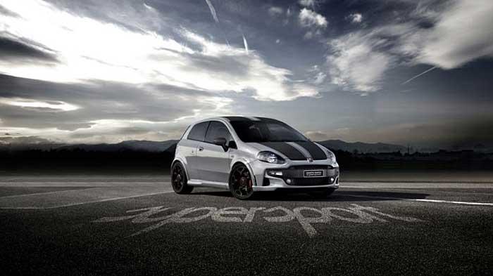 Der Abarth Punto SuperSport ist das stärkste Modell der Fiat-Edelschmiede