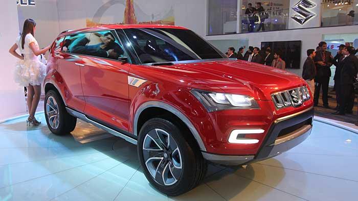 Die Suzuki-Studie XA Alpha weist auf das künftige Design der Japaner hin