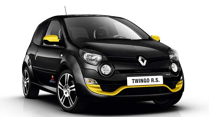 Der Twingo R.S. Red Bull Racing kostet 17.400 Euro