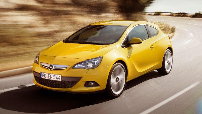 Der Opel Astra GTC