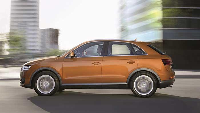 Der Audi Q3 ist das alltagstauglichste SUV der Ingolstädter
