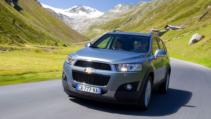 Der Chevrolet Captiva