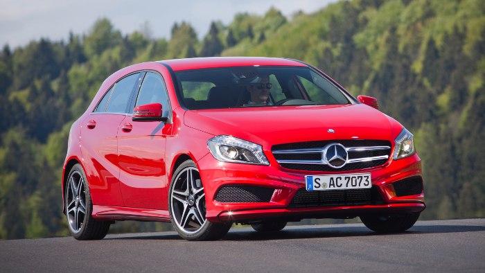 Die neue Mercedes A-Klasse kostet unter 24.000 Euro.