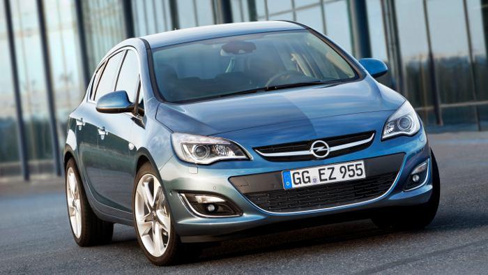 Der Opel Astra 1.6 CDTI kommt mit 3,6 Litern Diesel aus.