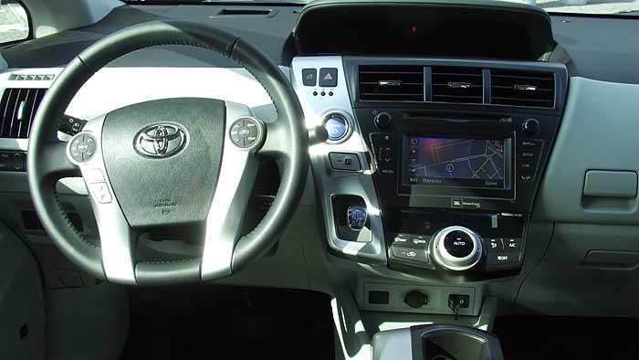 Der Toyota Prius Plus ist das zweite Derivat der Baureihe