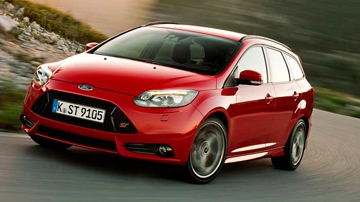 Der Ford Focus Turnier ST verfügt über 250 PS