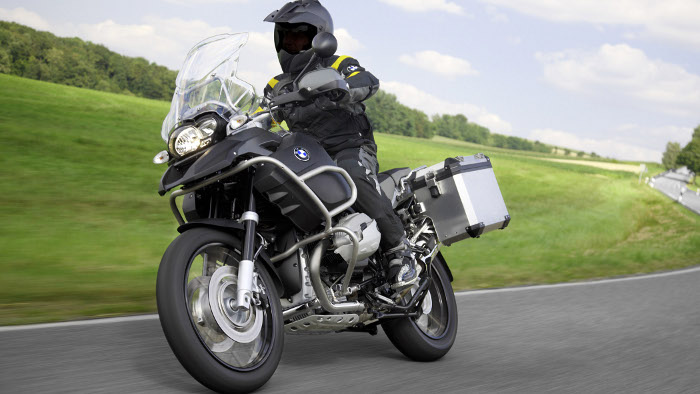 Die BMW R 1200 GS Adventure