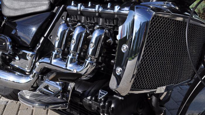 Der Motor der Triumph Rocket III Touring