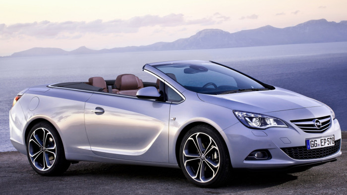 Nachfolger des Opel Astra Twintop mit Stoffverdeck