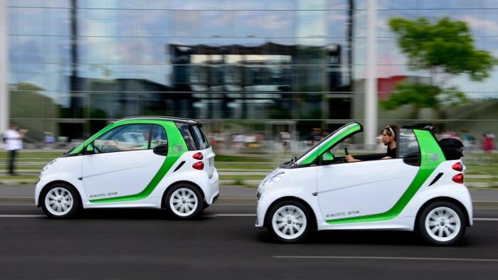 Der neue Elektro-Smart kommt im Spätsommer auf den Markt.