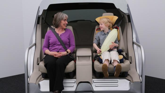 Ford Mondeo kommt mit Gurtairbag