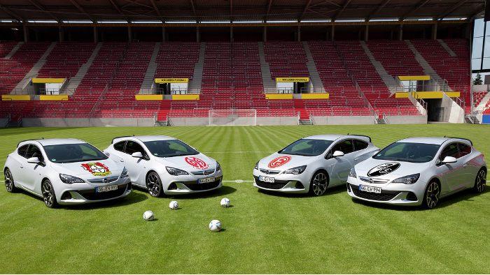 Opel engagiert sich als Sponsor in der Fußball-Bundesliga