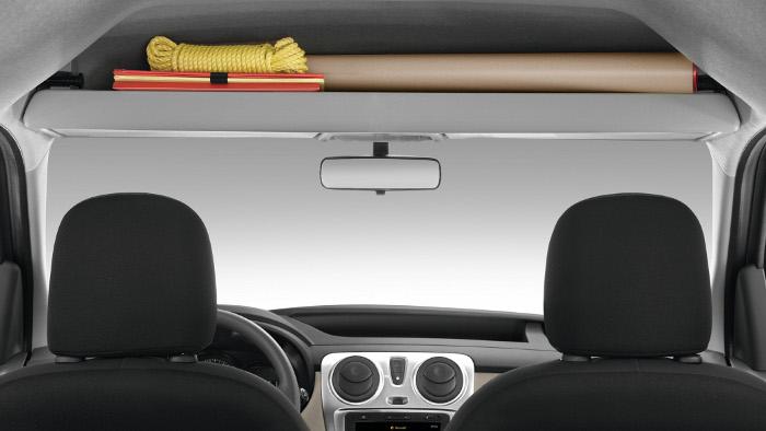 Der Dacia Dokker bietet viele Ablagemöglichkeiten