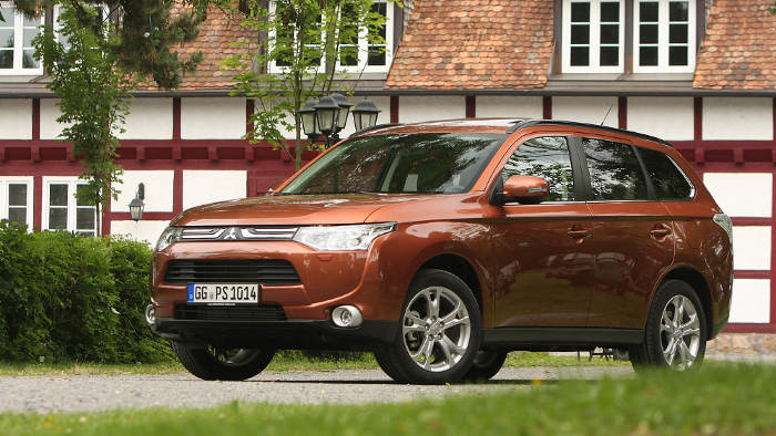 Mitsubishi Outlander: Ohne Ecken und Kanten