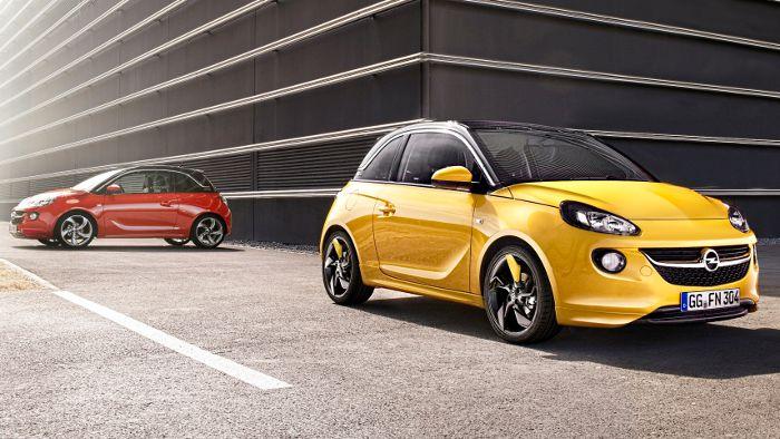 Der Kleinstwagen Opel Adam