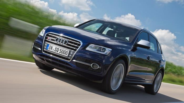 Audi SQ5: Grinsen inklusive