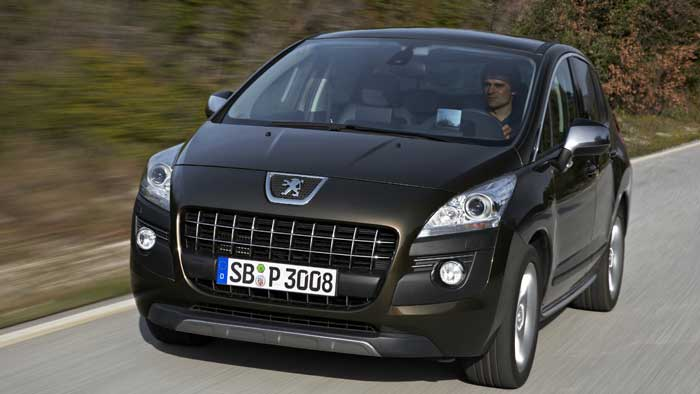 Peugeot biete nun auch den 3008 als Sondermodell