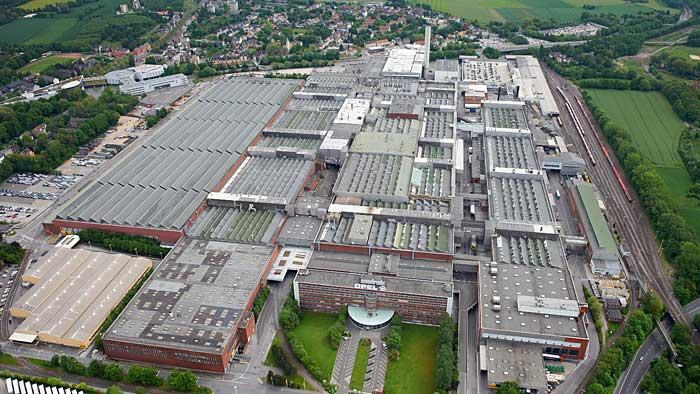 Das bald ehemalige Opel-Werk in Bochum