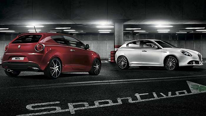 Alfa Romeo-Sondermodelle mit Glücksbringer