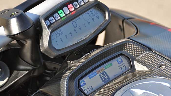 Die Ducati Diavel ist ein agiles Powerbike.