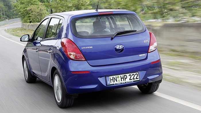 Hyundai hat den i20 aufgefrischt.