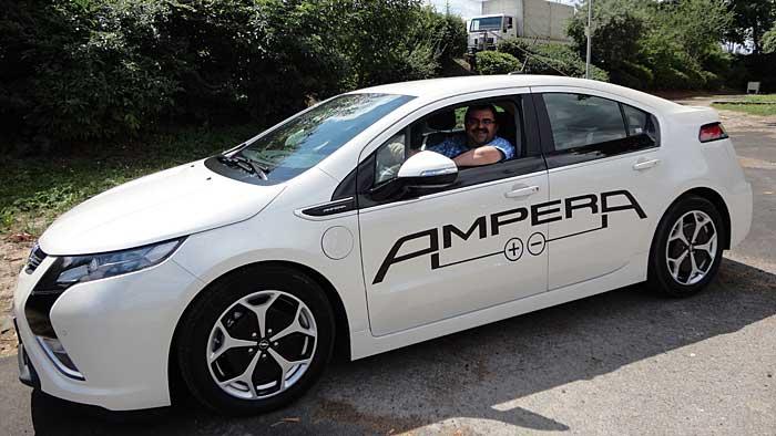 «Der Opel Ampera hat etwas vom Batmobil»