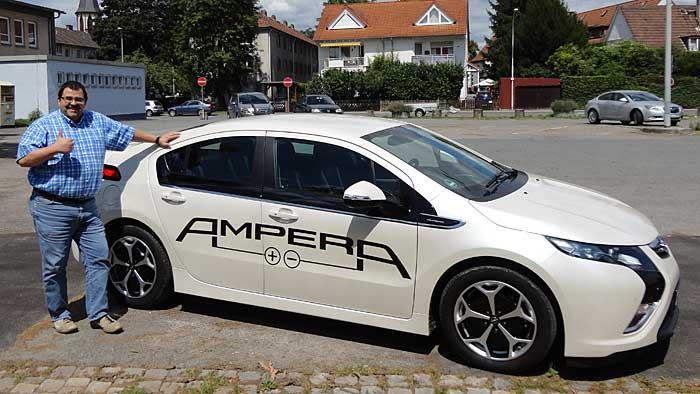 Autogazette-Leser Udo Bourquin testete dern Opel Ampera.