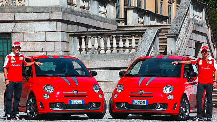 Fiat Abarth 695 Tributo Ferrari: Auf Alonsos Spuren