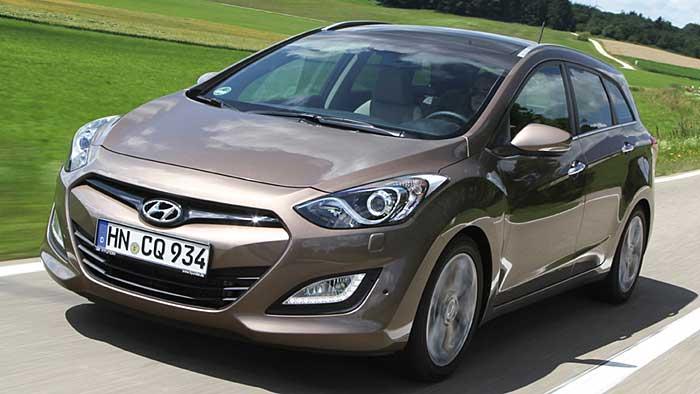 Der Hyundai i30cw startet die Aufholjagd auf den VW Golf Variant.